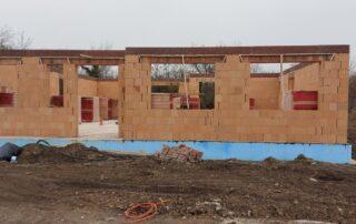 Realizácia stavby domu Nové Zámky 04