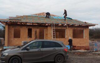 Realizácia stavby domu Nové Zámky 13