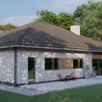 rodinný dom na kľúč Bungalov Victoria 101